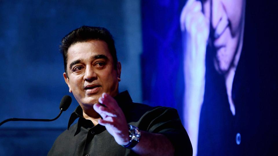 Kamal Haasan during the unveiling of the Tamil Thalaivas team jersey for the Pro Kabaddi League 2017 in Chennai on Thursday.