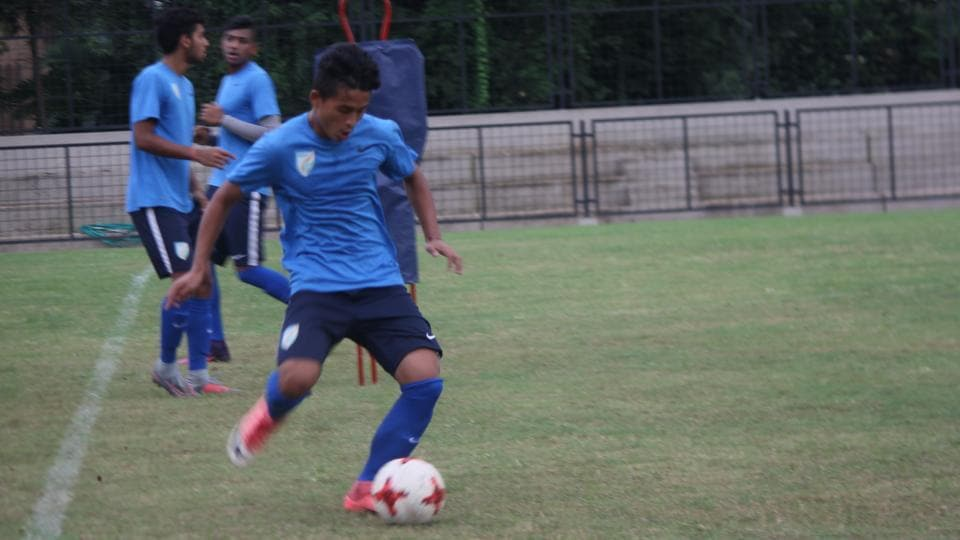 Amarjit Singh Khiyam is all set to lead the team against USA on October 6th.  (AIFF)