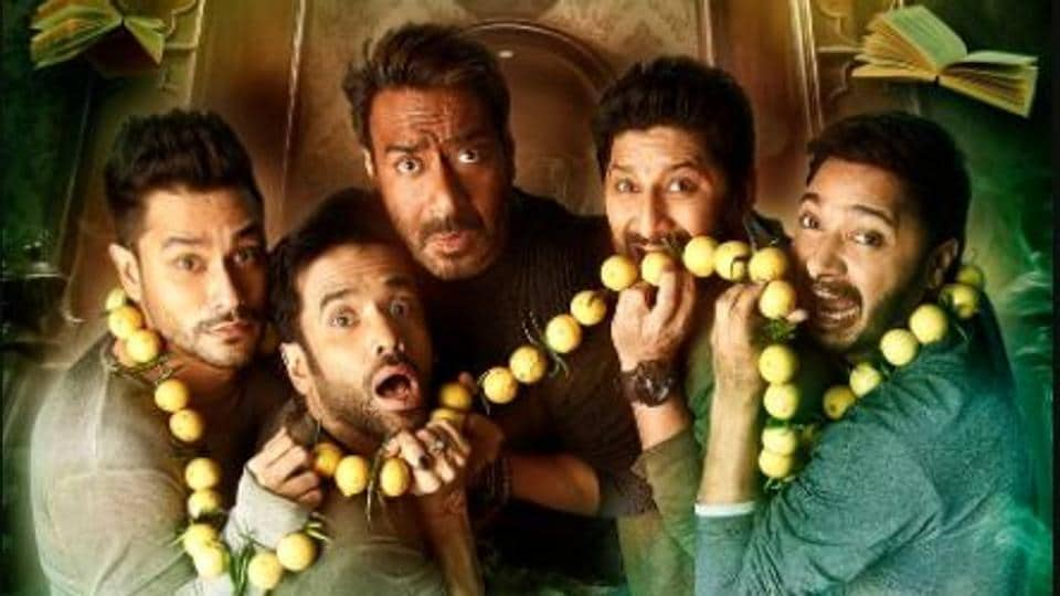 Golmaal Again stars Ajay Devgn and Parineeti Chopra and wants you to give up logic this Diwali. You apparently get magic and a ghost instead.