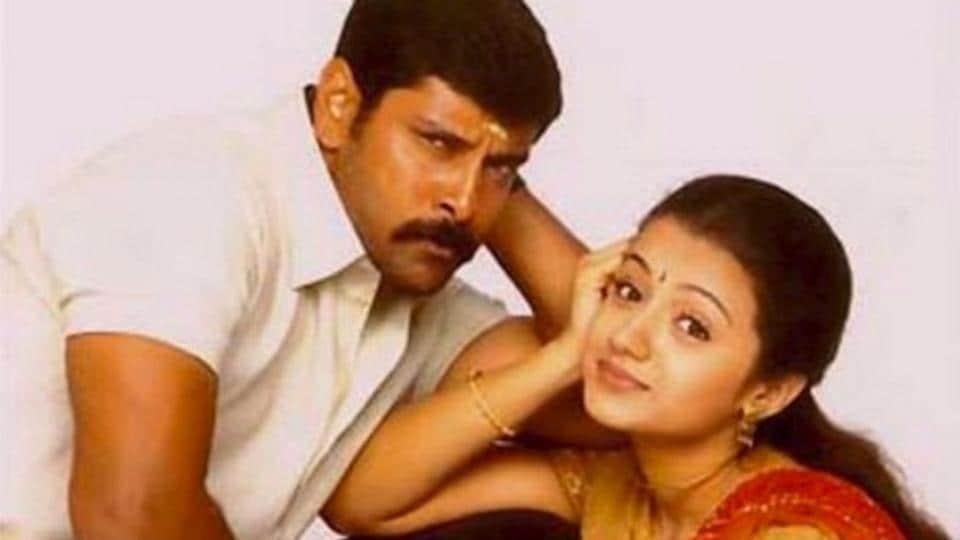 Vikram,Trisha,Saamy 2