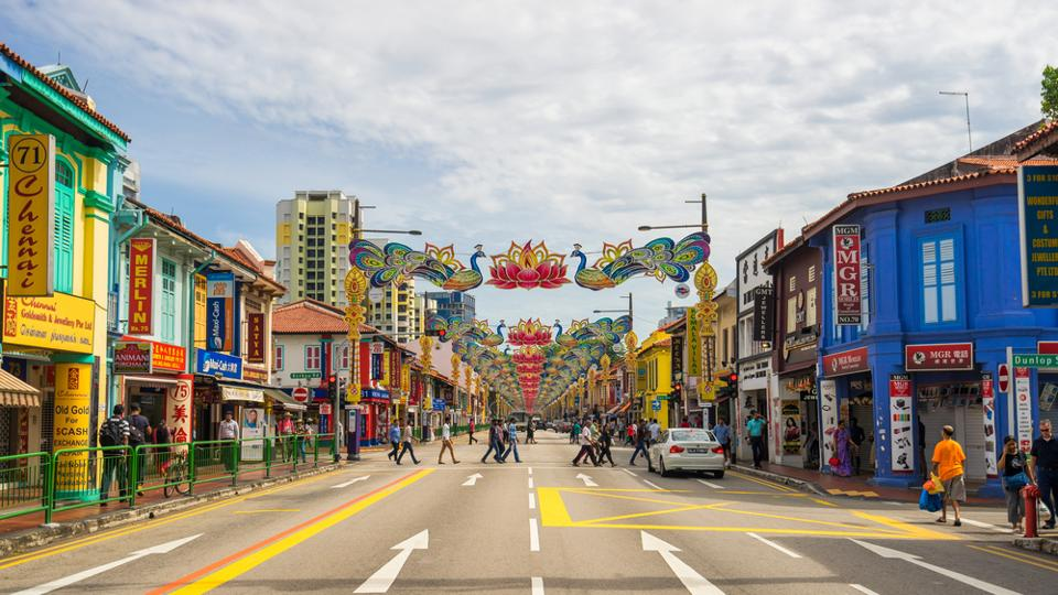 Little India in Singapore.