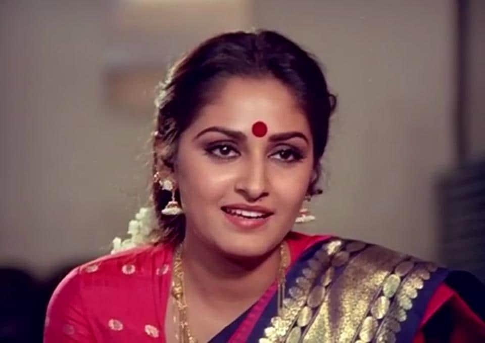 Jaya Prada was last seen in Kamal Haasan's Dasavatharam.