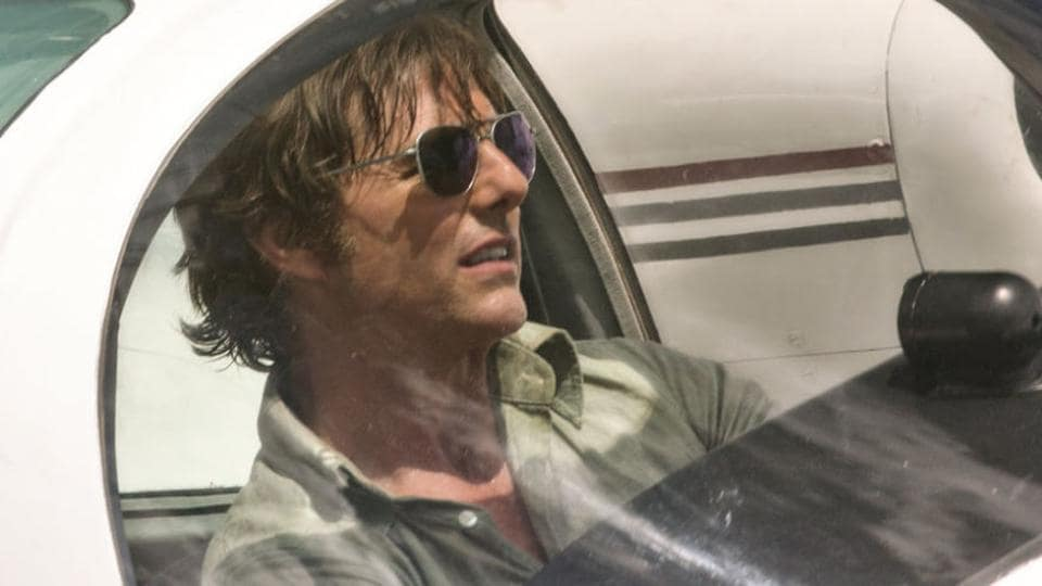 Tom Cruise in a still from American Made.