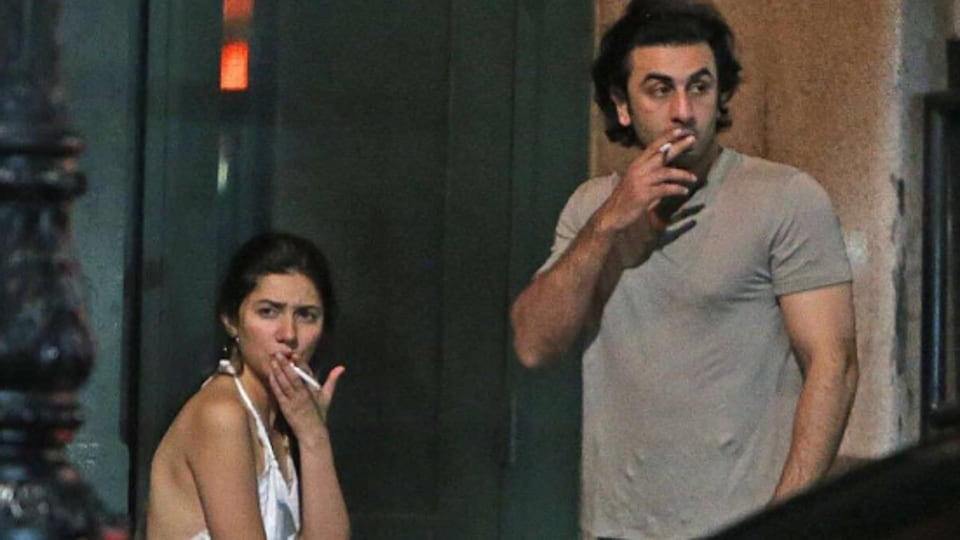 Image result for What's going on between Ranbir Kapoor and Mahira Khan? see photos