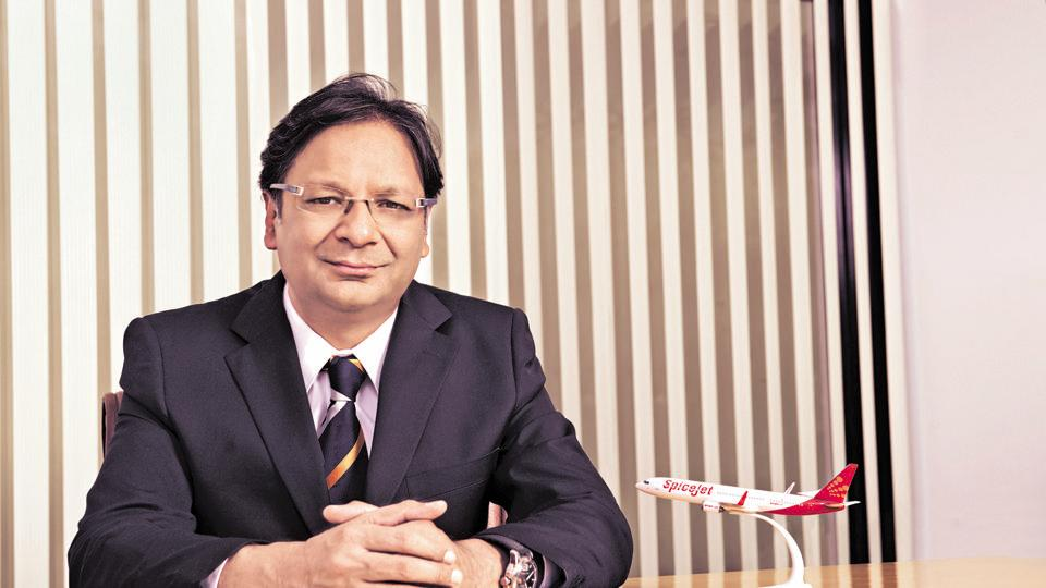 File photo of Ajay Singh, chairman and managing director of SpiceJet.