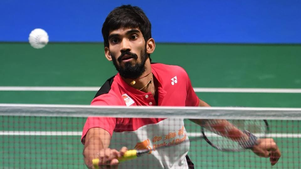 Kidambi Srikanth lost to Viktor Axelsen in their men's singles quarterfinal match at the Japan Open Superseries badminton in Tokyo onFriday.
