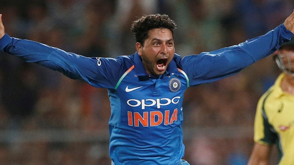 Kuldeep Yadav became the third Indian to take a hat-trick in ODIs during the India vs Australia second match in Kolkata.