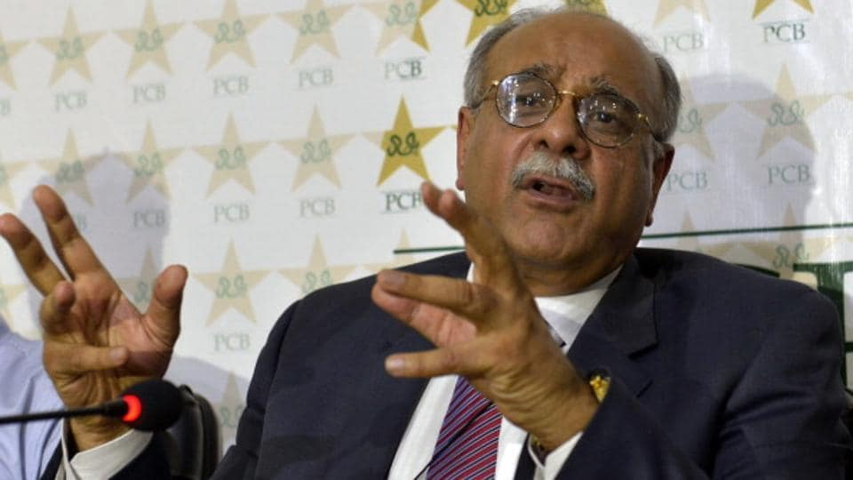 Pakistan Cricket Board  chairman Najam Sethi is reportedly in London as the body steps up pressure on the Board of Control for Cricket in India.