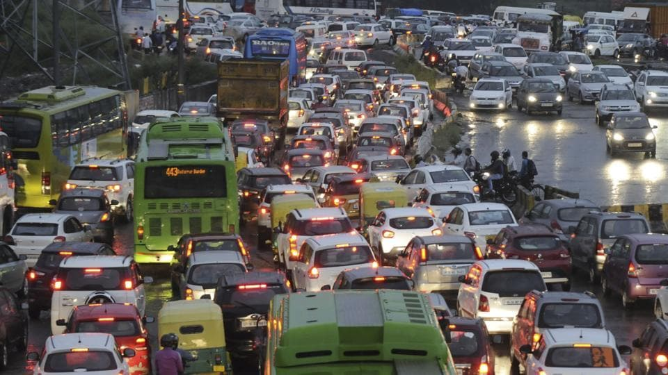 Traffic moved slow on major roads such as the Delhi-Noida-Direct (DND) Flyway and Noida-Delhi Link Road as well. Long snarls were witnessed during the evening rush hour, due to the rush of commuters heading towards Delhi.