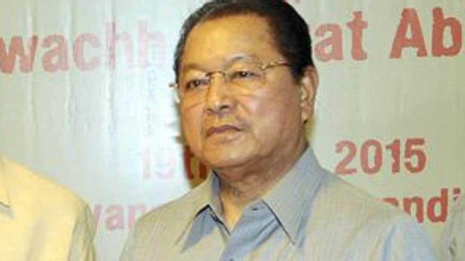 Mizoram CM Lal Thanhawal