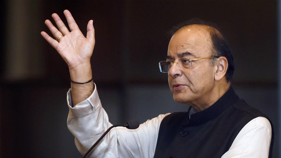 Union finance minister Arun Jaitley addresses the 70th Annual General Meeting of Indian Banks Association (IBA), in Mumbai.