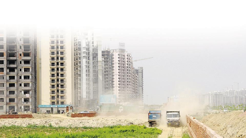 Pollution caused at construction sites.