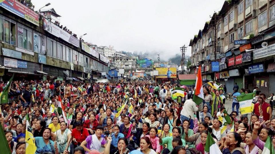 As Darjeeling enters the 100th day of its indefinite bandh on Friday, the West Bengal state government's unexpected move to form an administrative board to run the semi-autonomous Gorkhaland Territorial Administration (GTA) with expelled Gorkha Janmukti Morcha (GJM) leader Binoy Tamang at the helm has negated whatever small progress was made to restore peace and normalcy in the north Bengal hill. (PTI)