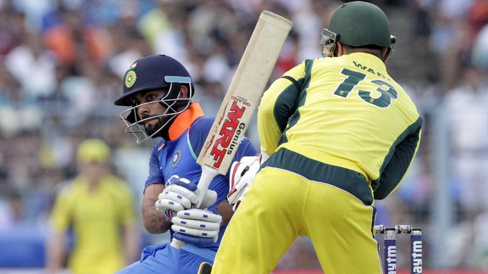 India vs Australia,Virat Kohli,Matthew Wade