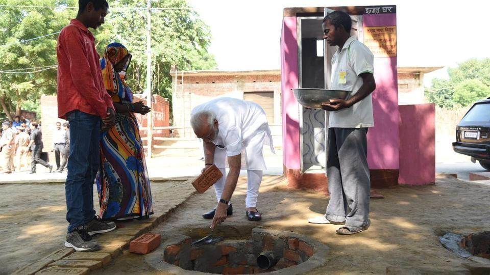 Narendra Modi,Varanasi,sanitation