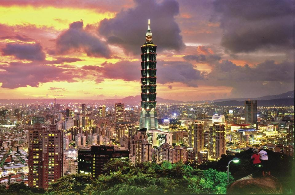 Taiwan's capital, Taipei, is a scrumptious city to live in