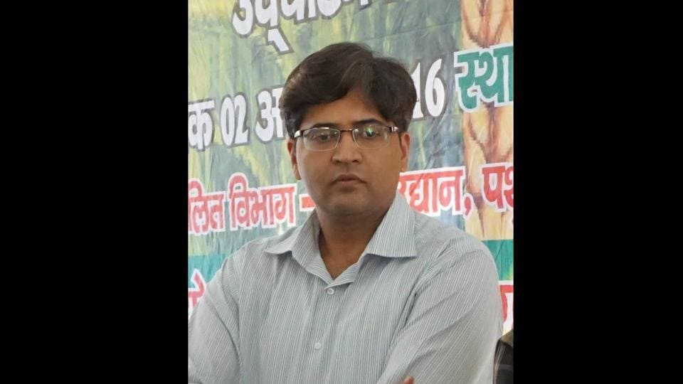 Dr Iqbal Ahmad, district magistrate of Champawat district in Uttarakhand.