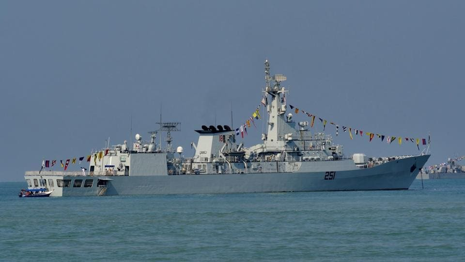PNS Zulfiquar from Pakistan Navy during The Langkawi International Maritime & Aerospace Exhibition (LIMA 2015) at Langkawi Malaysia on 17 March, 2015.