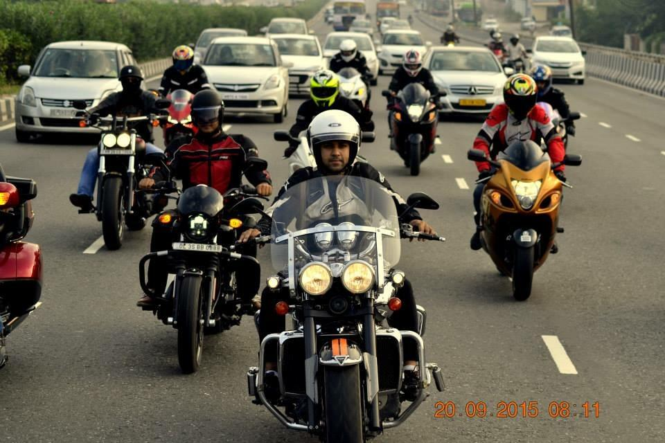 Bikers to vroom their mean machines on city roads for the ...