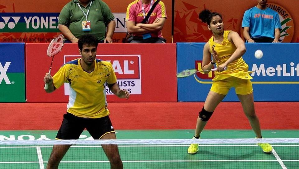 Pranaav Jerry Chopra (L) and N Sikki Reddy lost in the semifinals of the Japan Open on Saturday.