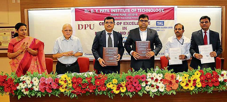DY Patil Institute of Technology,robotics,TAL Manufacturing Solutions Limited
