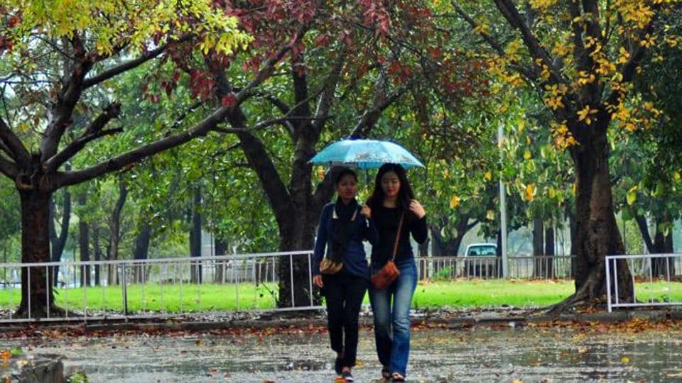This monsoon, Chandigarh got 711 mm  rainfall, 98 mm less than the normal of 809 mm