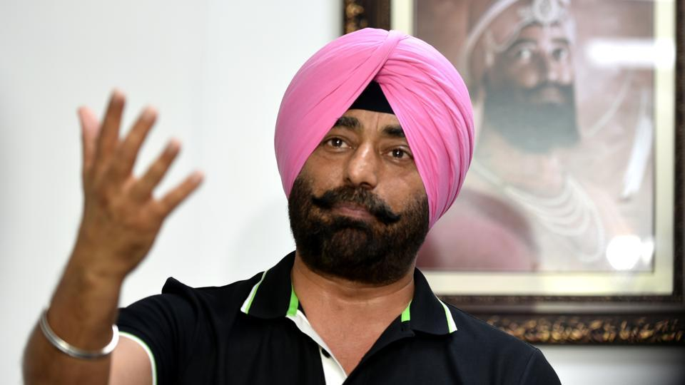 Leader of opposition in the Punjab assembly Sukhpal Khaira