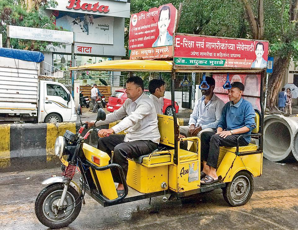 E-rickshaws,good for Pune,neighbourhoods