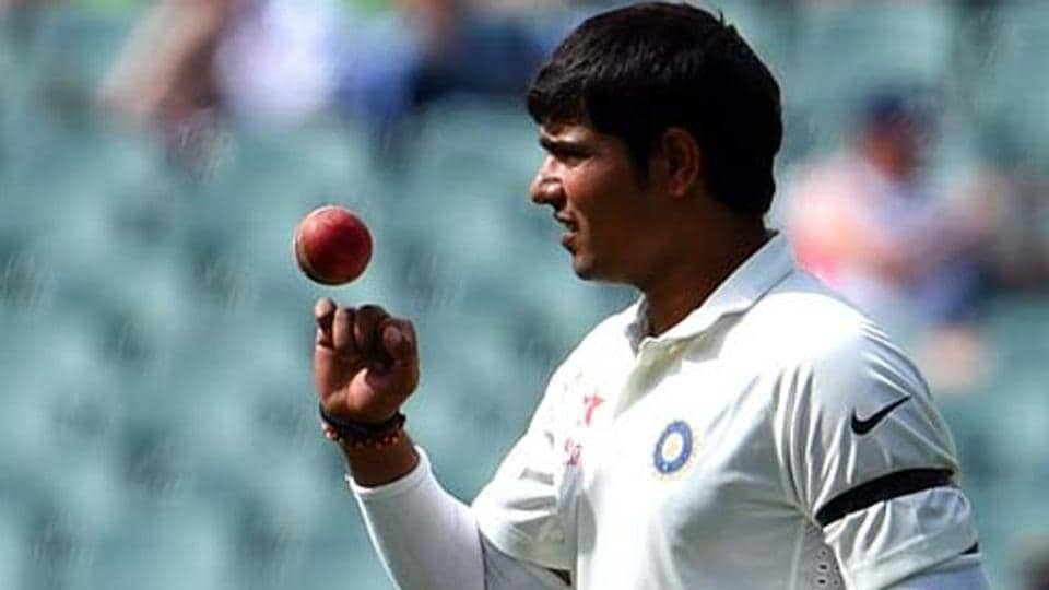 Karn Sharma took 4/58 as India A dismissed New Zealand A for 147 in the first innings of their unofficial Test match.