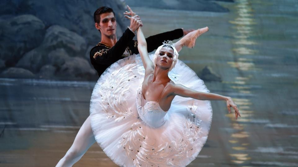 It muddled along for several years and took a flying leap to fame in the 1890s after Italian ballerina Pierina Legnani, a guest artiste of the Russian ballet, did a spectacular 32 fouettés, non-stop whip-ups with one leg while turning fast on tiptoe on the other leg.  (Mohd Zakir/HT PHOTO)
