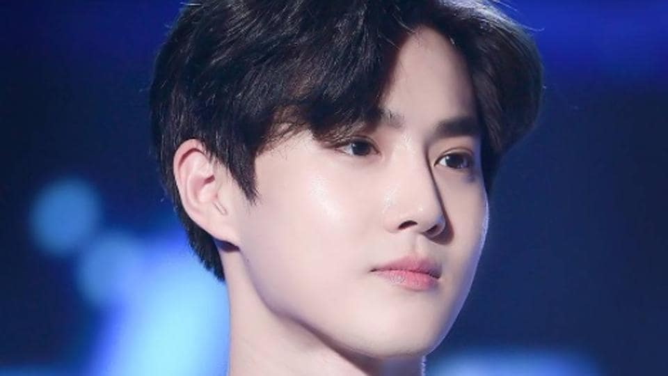 Glass skin is a Korean beauty trend that is popularised by K-pop stars like Suho.