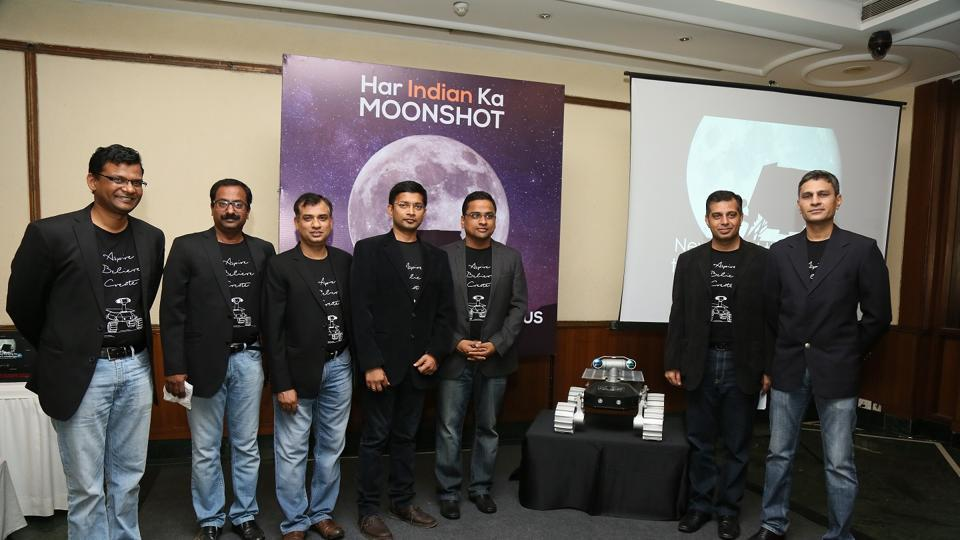 The anthem for the Indian team, composed by music director Ram Sampath, seeks to encourage every citizen to take part in the mission in some form or the other, TeamIndus said.
