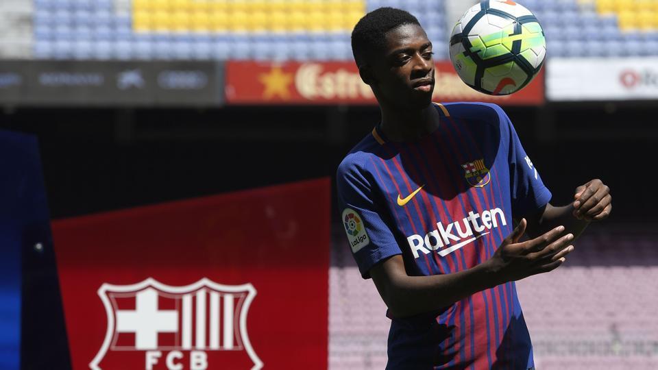 Ousmane Dembele will get € 12 million per year (gross), as well as a bonus of € 3.3 million in case FCBarcelona wins the treble.
