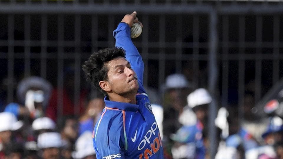 Kuldeep Yadav became the third Indian to take a hat-trick in ODI cricket in the second India vs Australia match.
