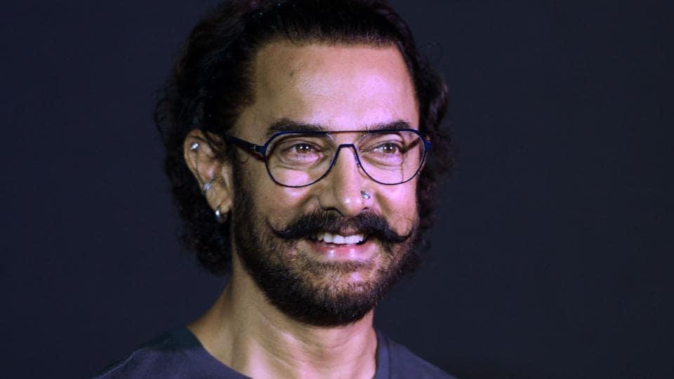 Aamir Khan attends a news conference to launch a music track of his new film Secret Superstar in Mumbai on August 21, 2017.
