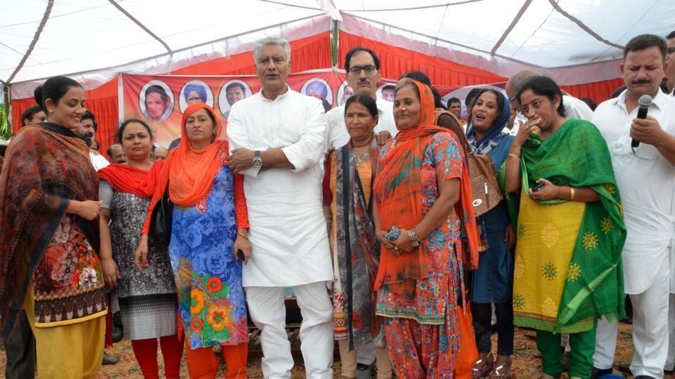 Sunil Jakhar,Gurdaspur,Lok Sabha poll