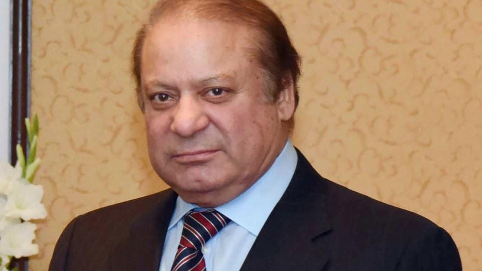 Ousted prime minister of Pakistan Nawaz Sharif.