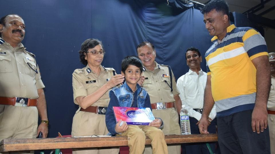 Om Kharat, the seven-year-old child who was kidnapped three days ago, was found safe on Monday evening.