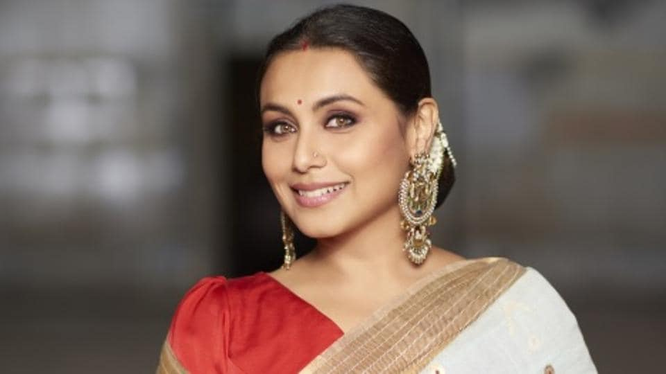 """Rani Mukerji says she is """"very excited"""" that she could finish a movie (Hichki) with her daughter, Adira by her side."""