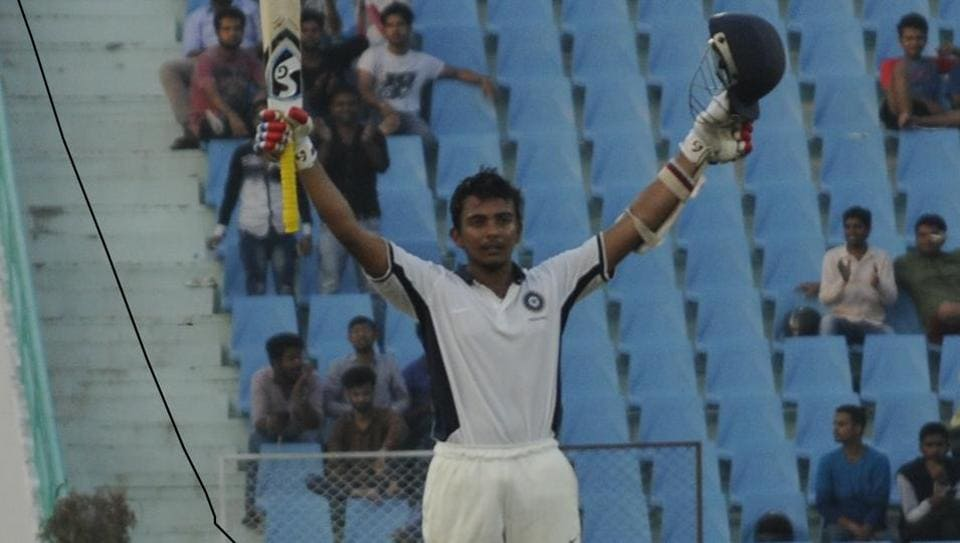 Prithvi Shaw starred with a dazzling century in the Duleep Trophy final in Lucknow on Monday.