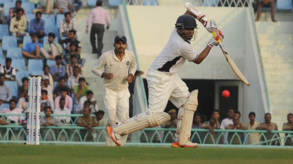 Prithvi Shaw hit a century on the opening day of the Duleep Trophy final on Monday.
