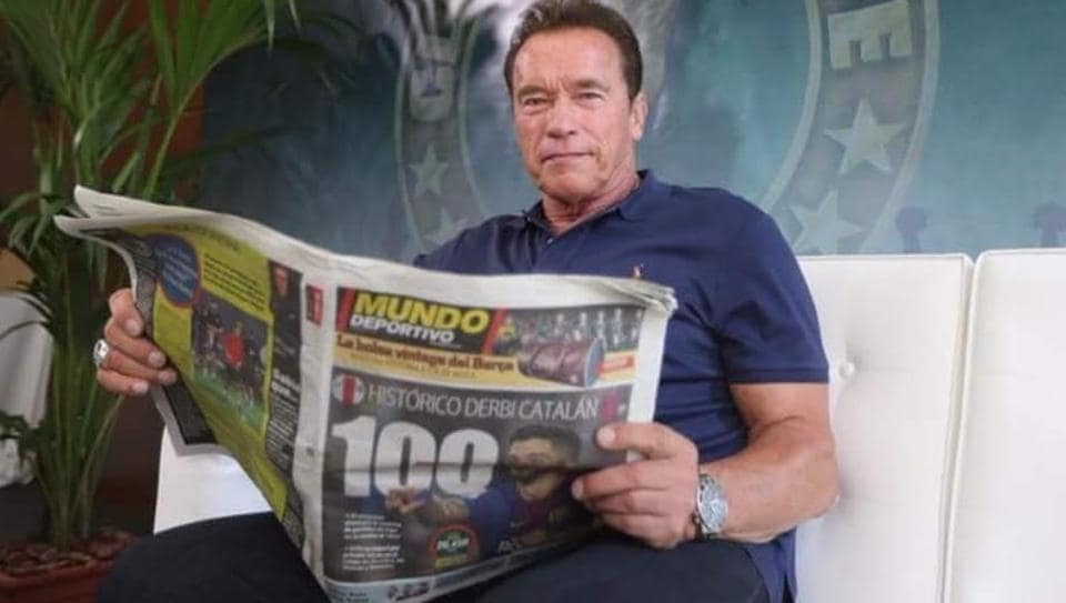 Lionel Messi,Arnold Schwarzenegger,Football Terminator