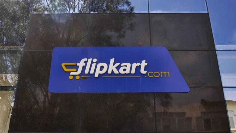 A file photo of the logo of online retailer Flipkart is seen on a building in Bengaluru.