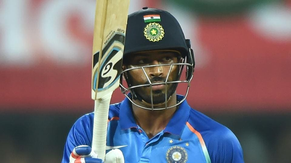 Indian cricketer Hardik Pandya has been in prime form against Australia in the ongoing ODIseries.