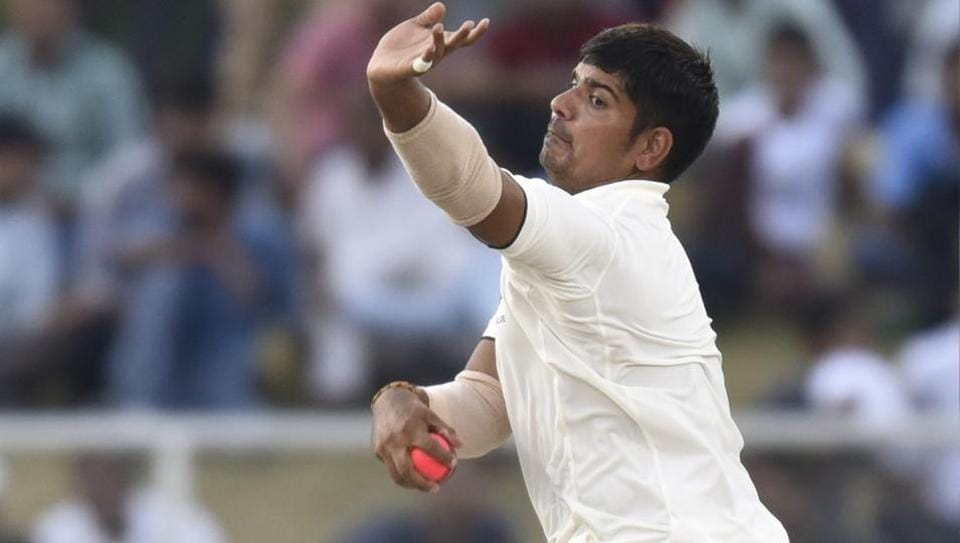 KarnSharma,Shahbaz Nadeem,India A vs New Zealand A