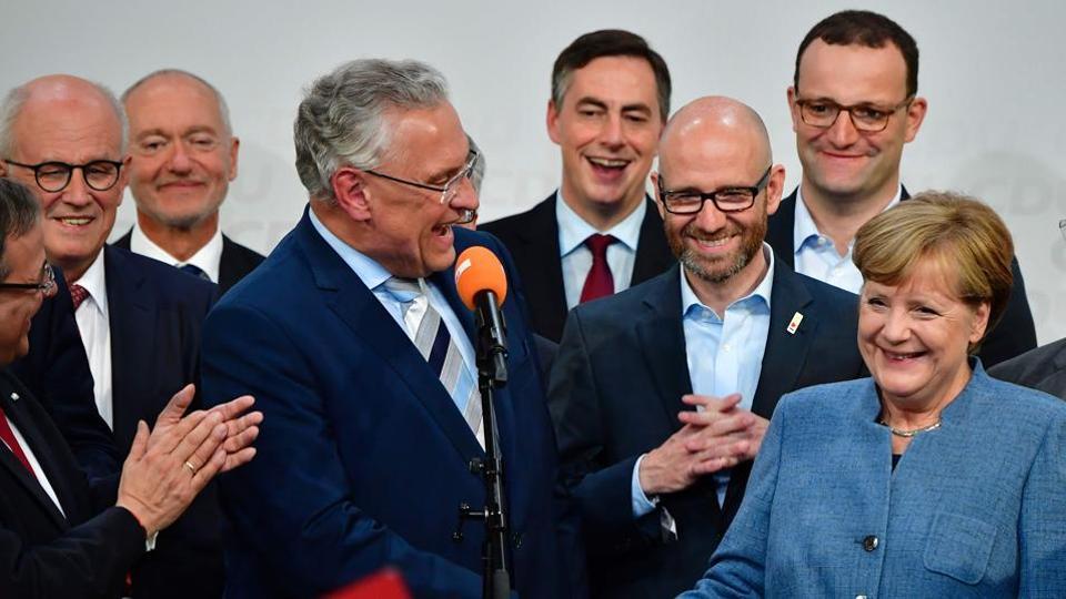 Angela Merkel,Alternative for Germany,German federal election