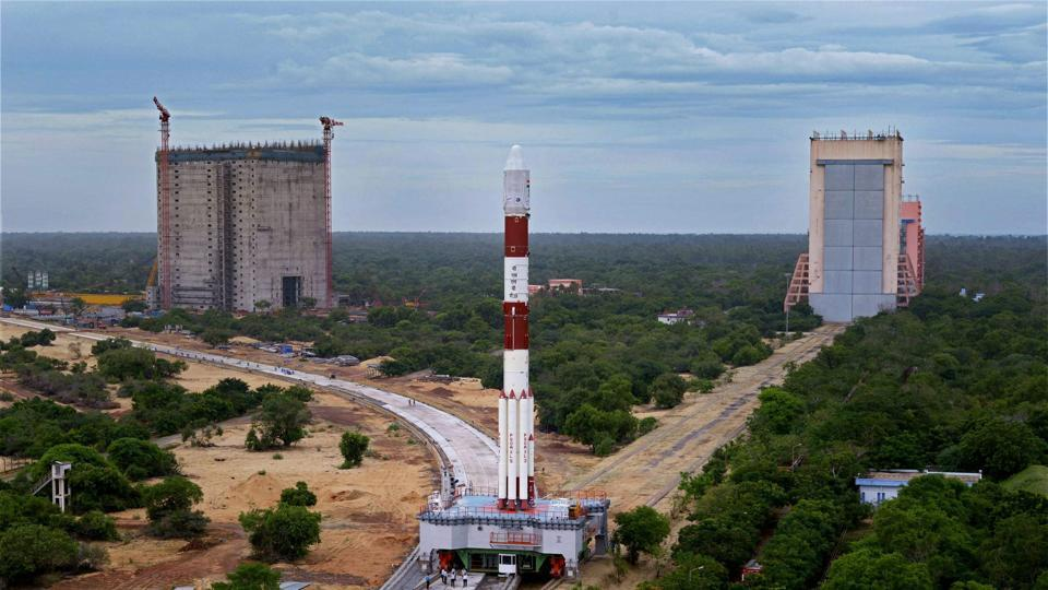 File photo of countdown for the launch of India's eighth navigation satellite IRNSS-1H  at Sriharikota last month.
