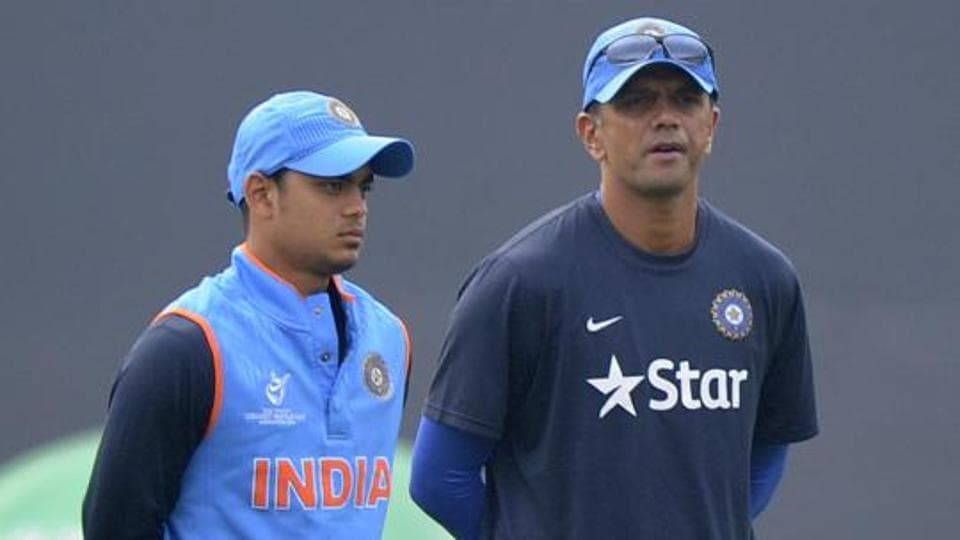 Rahul Dravid is the coach of the India A and Under-19 teams.