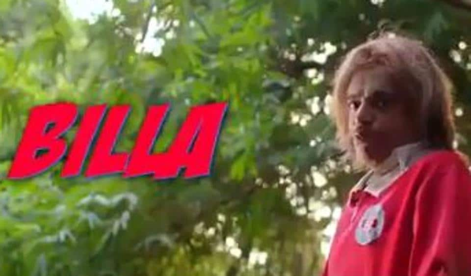 Sunil Grover plays a guy who is drunk in Amit Trivedi's music video, Billa Sharabi.