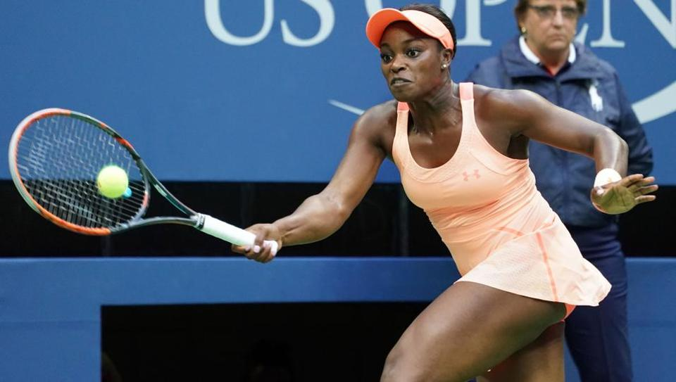US Open winner Sloane Stephens was knocked out of Wuhan Open on Monday.